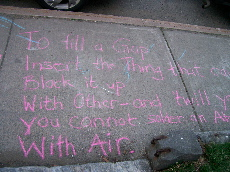 Chalk it up/Emily Dickinson Poem