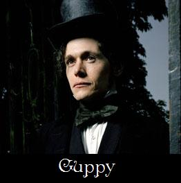 Burn Gorman as Guppy. BBC picture.