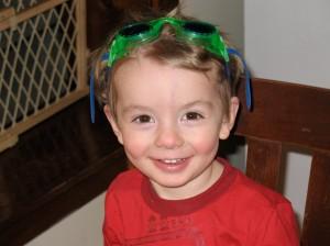 Happy Birthday to me -- I'm 3, I'm 3!